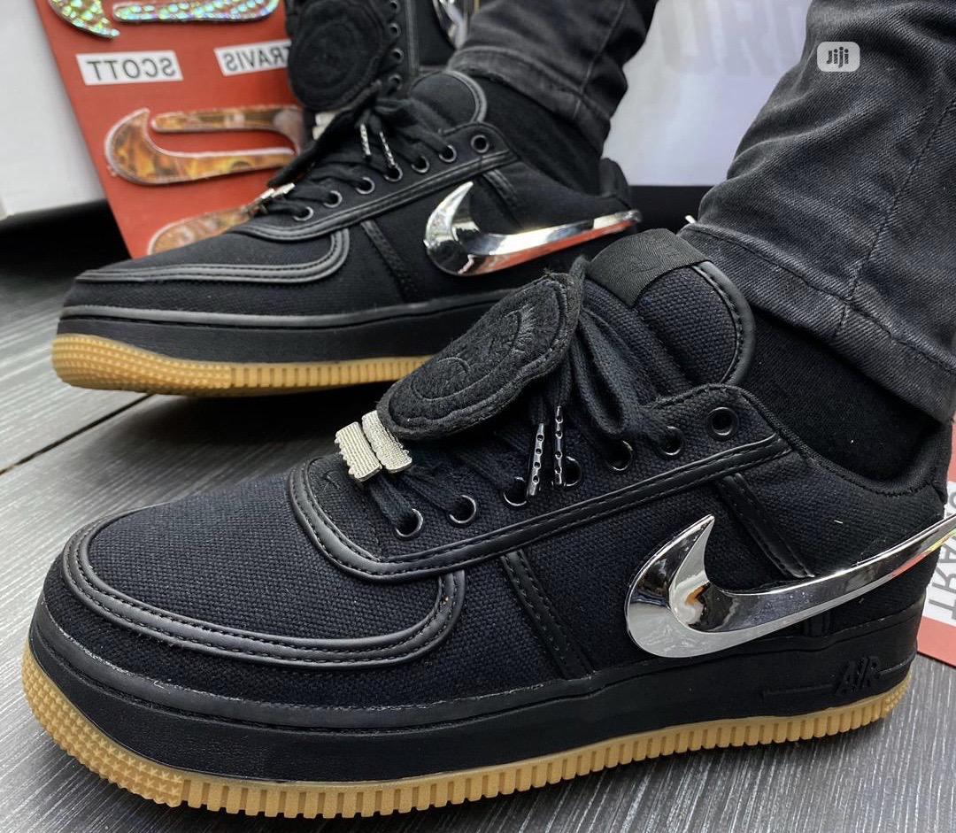 Nike Air Force 1 07 Travis Scott Black
