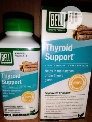 BELL THYROID SUPPORT to Treat Goiter and All Thyroid Issues. | Vitamins & Supplements for sale in Lagos State, Abule Egba