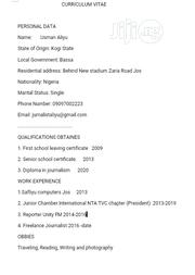 Office CV | Office CVs for sale in Plateau State, Jos