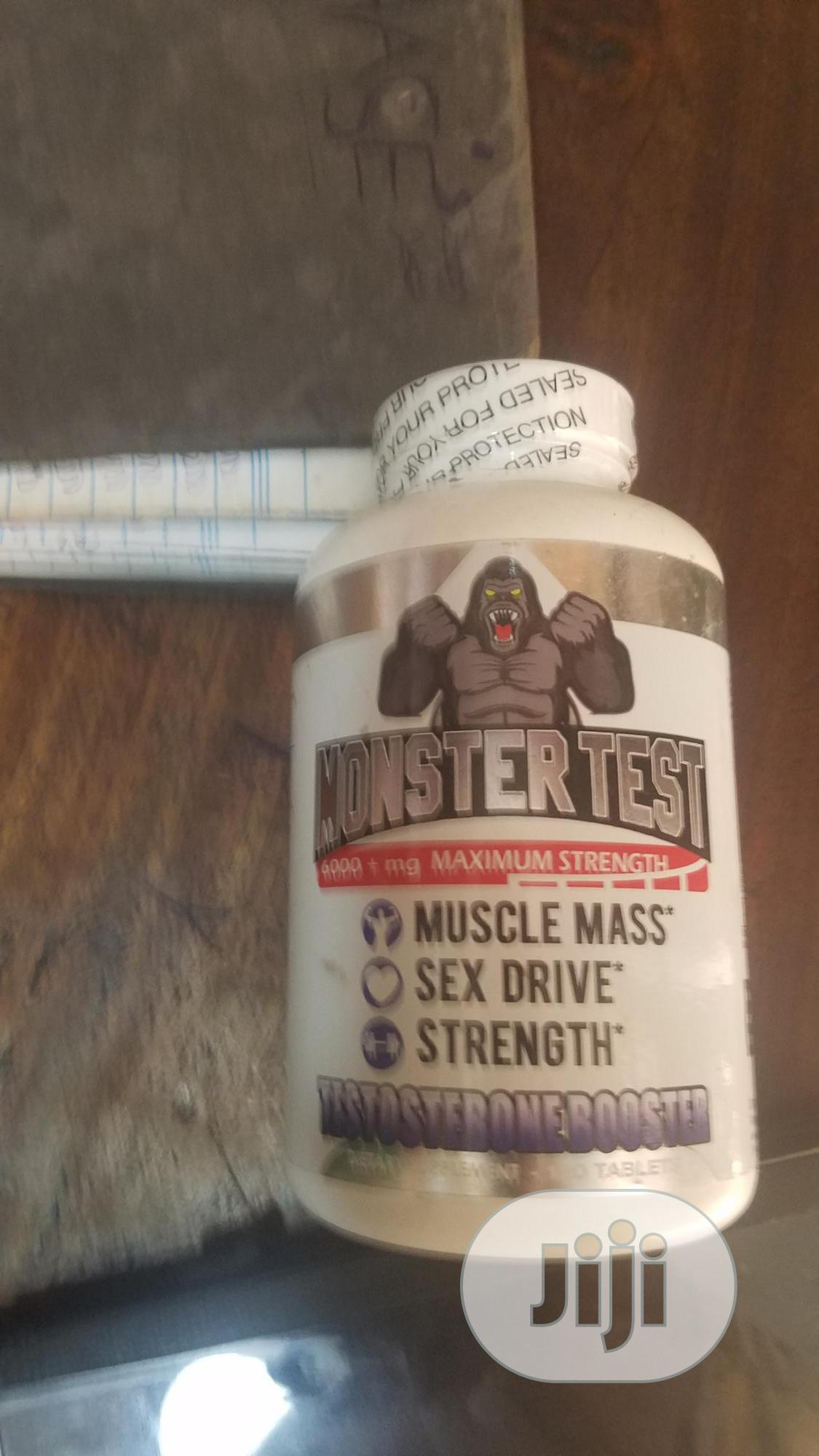Monster Test | Sexual Wellness for sale in Surulere, Lagos State, Nigeria