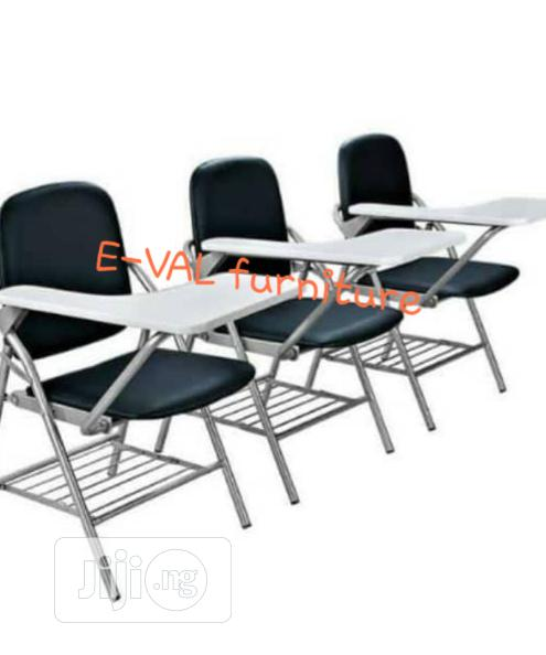 High Quality Imported Folding Chair With Writing Pad