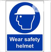 Head Net And Mask To Be Worn Sign (A4 Paper Size) | Safety Equipment for sale in Lagos State, Lagos Island