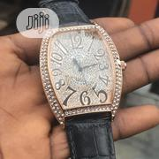 Frank Muller Iced Head, Leather Watch For Men And Women. | Watches for sale in Lagos State, Lagos Island