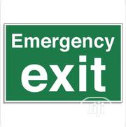 Emergency Exist Sign | Safety Equipment for sale in Lagos State, Lagos Island