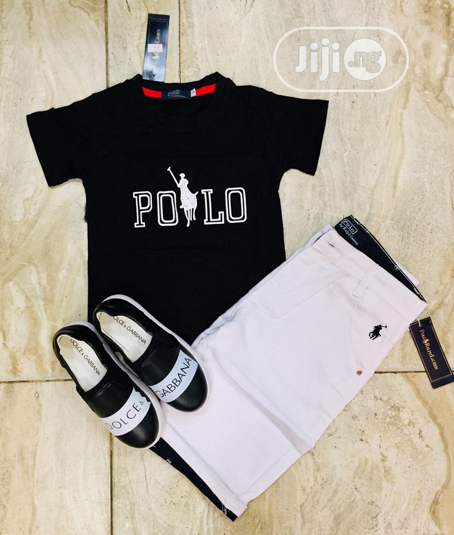 Dior Complete Outfit for Male Child