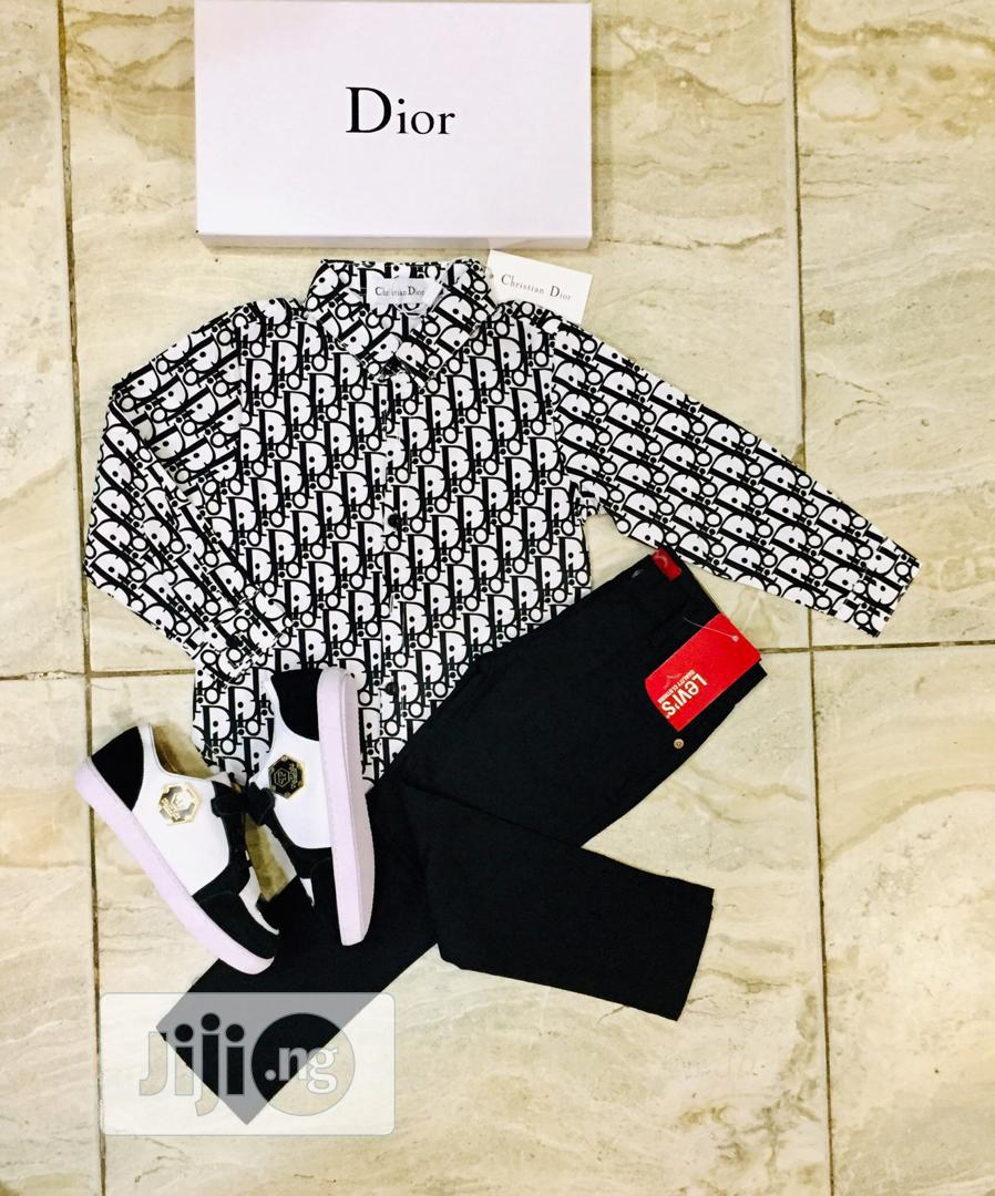 Dior Complete Outfit for Male Child | Children's Clothing for sale in Lagos Island (Eko), Lagos State, Nigeria