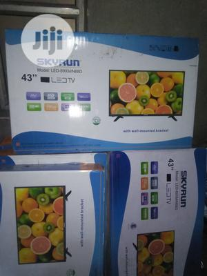 """Skyrun 43"""" Led Television With 2yrs Warranty. 
