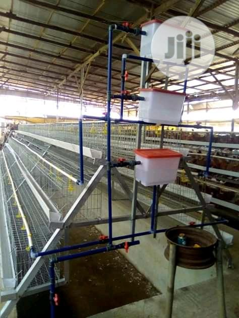 China Factory Best Battery Cage Hot Dipped Poultry Cages | Farm Machinery & Equipment for sale in Ikeja, Lagos State, Nigeria