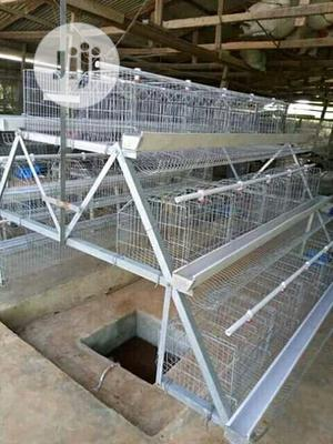 China Factory Best Battery Cage Hot Dipped Poultry Cages | Farm Machinery & Equipment for sale in Lagos State, Ikeja
