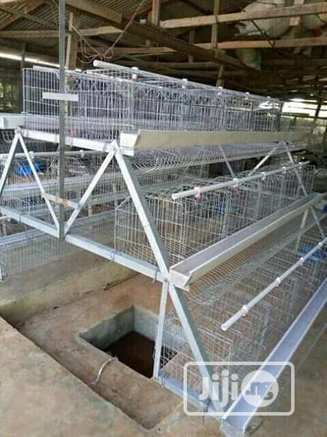 China Factory Best Battery Cage Hot Dipped Poultry Cages