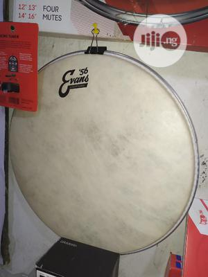 Original Evans Coated Vintage 14inchs Drum Head. | Musical Instruments & Gear for sale in Lagos State