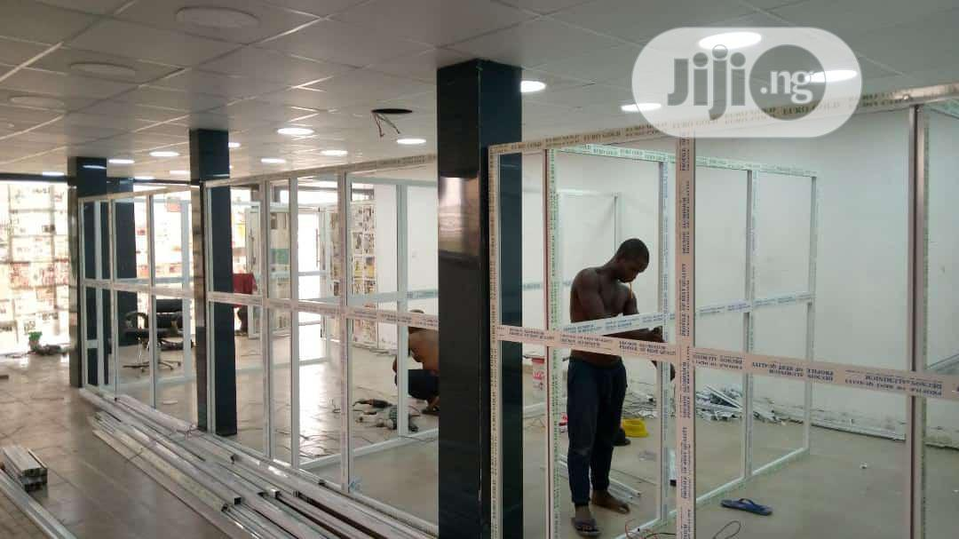 Office And Toilet Partition | Building & Trades Services for sale in Agege, Lagos State, Nigeria