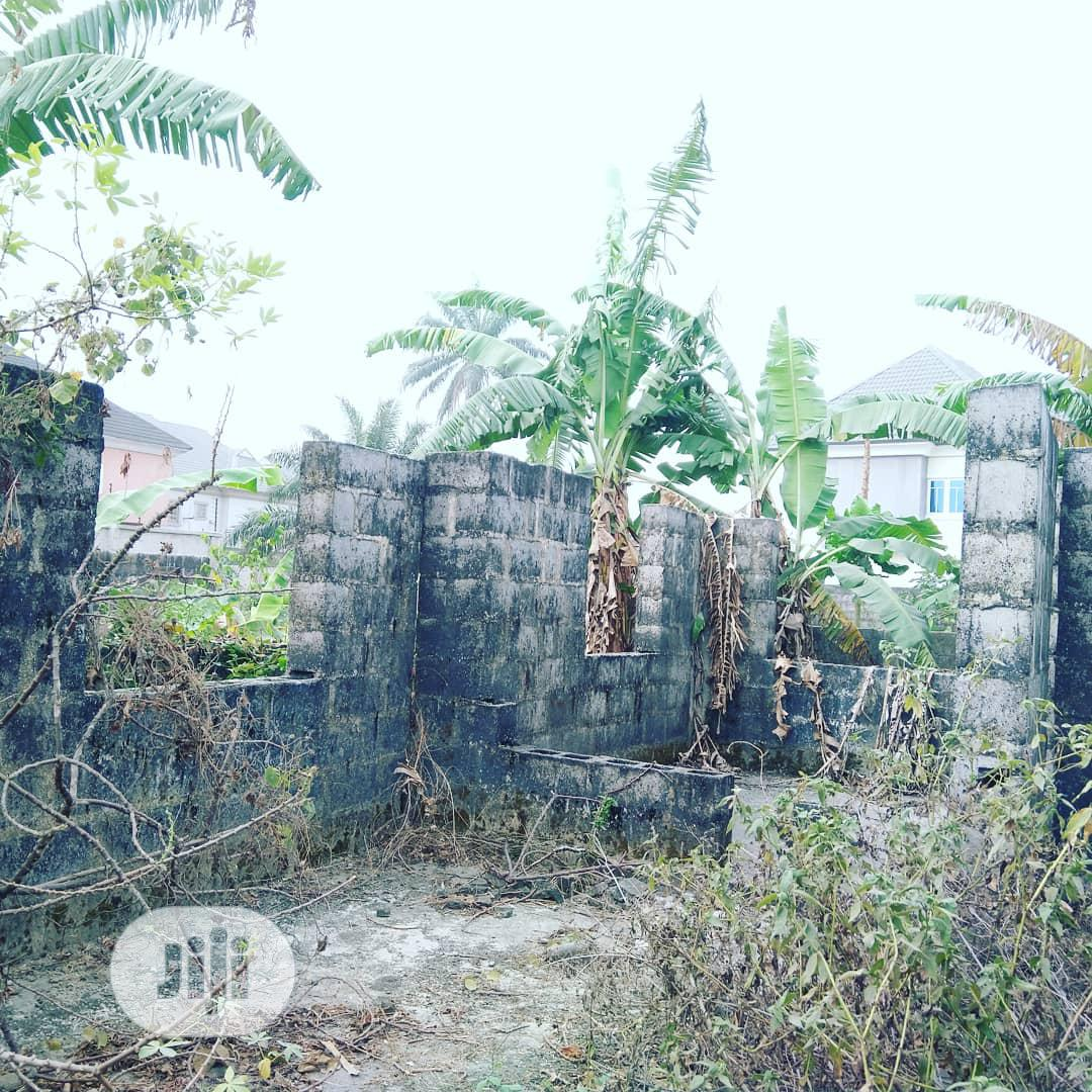 3 Bedroom Uncompleted Duplex Fully Fenced, Gated On Half Plot   Land & Plots For Sale for sale in Port-Harcourt, Rivers State, Nigeria