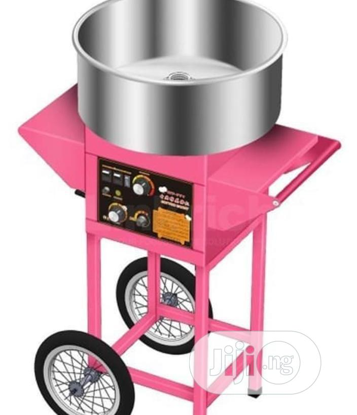 Quality Candy Floss Machine With Cart
