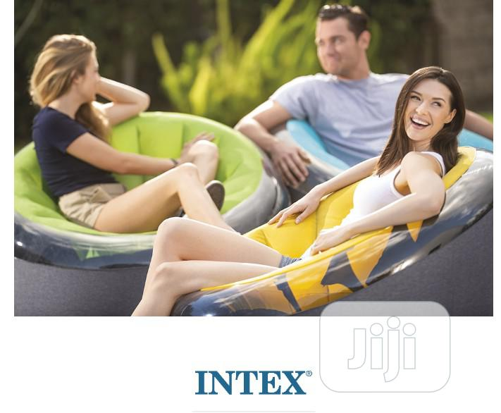 Archive: Inflatable Armchair Empire Intex 66582 Yellow