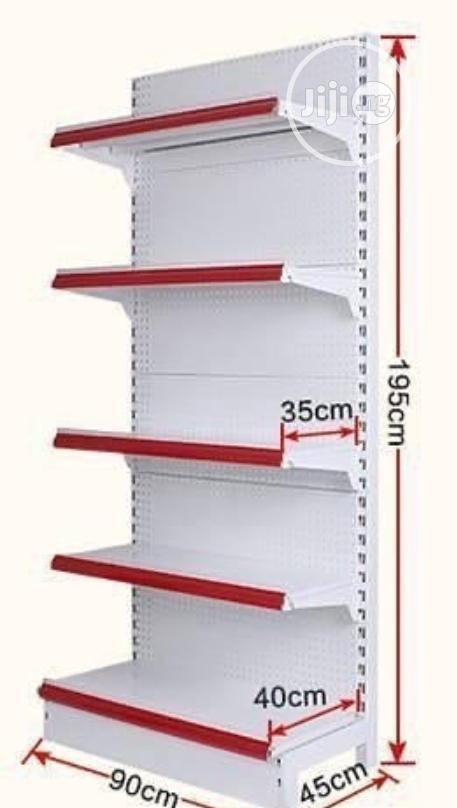 Single Sided Supermarket Shelf