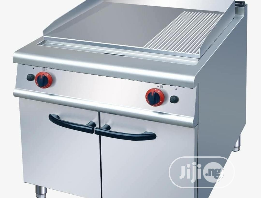 High Quality Gas Griddle With Cabinet