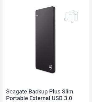 Seagate Backup Plus Slim Portable External USB 3.0 Hard Drive - 500GB   Computer Hardware for sale in Lagos State, Ikeja