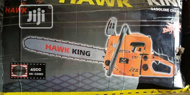 Hawk King Chain Saw Machine