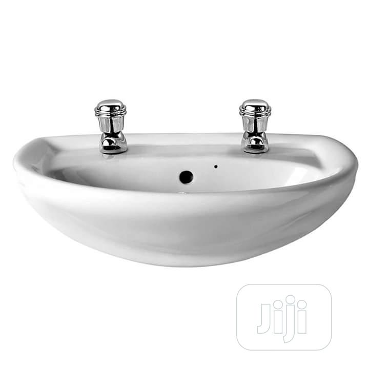 England Hanging Washing Hand Basin | Plumbing & Water Supply for sale in Lagos State, Nigeria