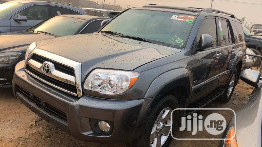 Toyota 4-Runner 2008 Limited Gray | Cars for sale in Surulere, Lagos State, Nigeria