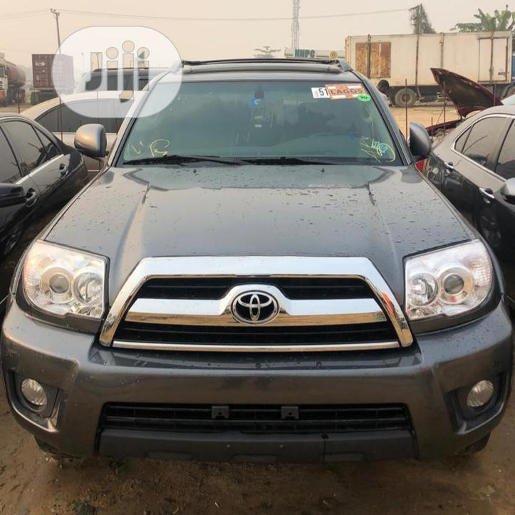 Toyota 4-Runner 2008 Limited Gray