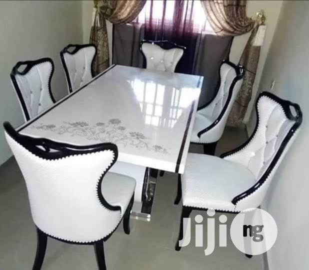 Imported Dining Table With 6 Chairs