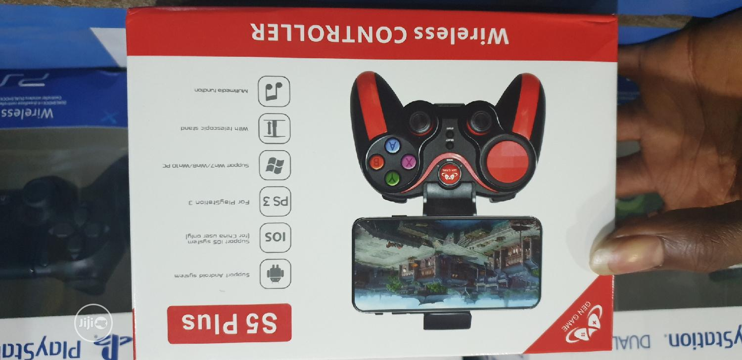 Wireless Controller S5 Plus   Accessories for Mobile Phones & Tablets for sale in Ikeja, Lagos State, Nigeria