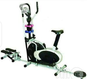 3 in 1 Orbitrac Bike With Dumbbells   Sports Equipment for sale in Lagos State, Surulere