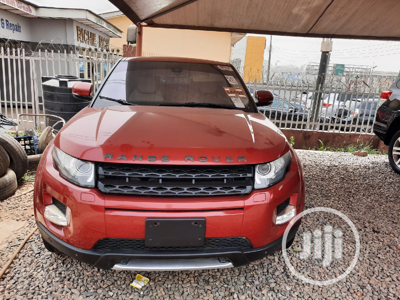 Land Rover Range Rover Evoque 2014 Red