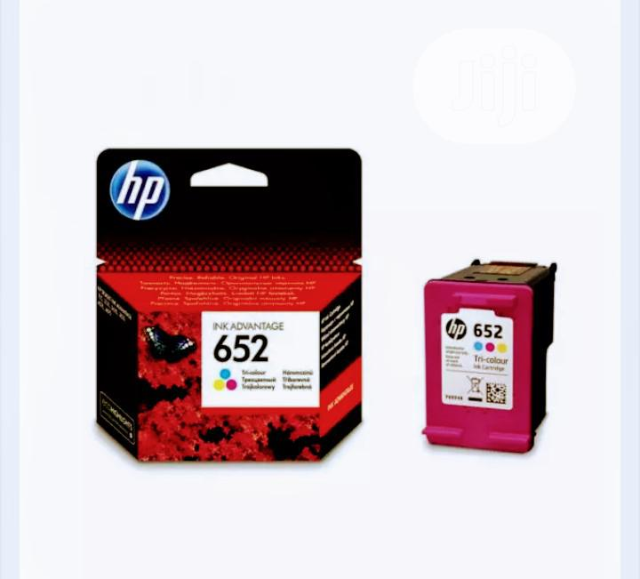 Archive: HP 652 Tri-colour Printer Ink Cartridge - Ink Advantage