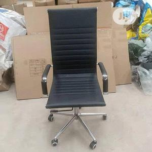 Imported Black Leather Executive Office Chair   Furniture for sale in Lagos State, Maryland