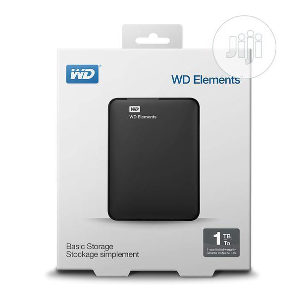 1TB WD External USB 3.0 Hard Drive