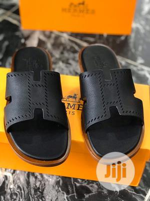 Original Hermes Black Slippers Palm Available   Shoes for sale in Lagos State, Surulere