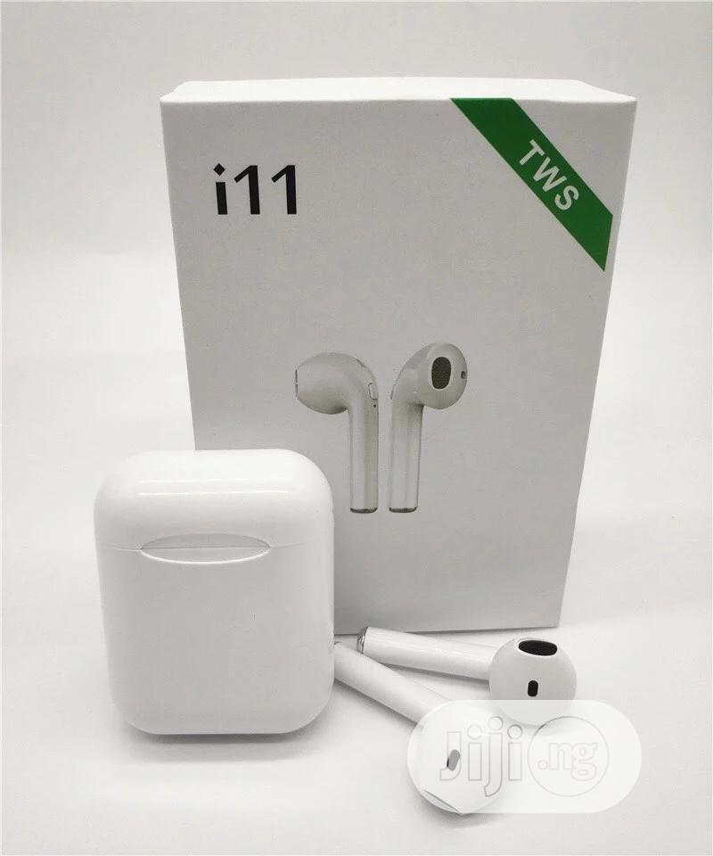 I11 TWS Wireless Bluetooth 5.0 Earphones | Headphones for sale in Port-Harcourt, Rivers State, Nigeria