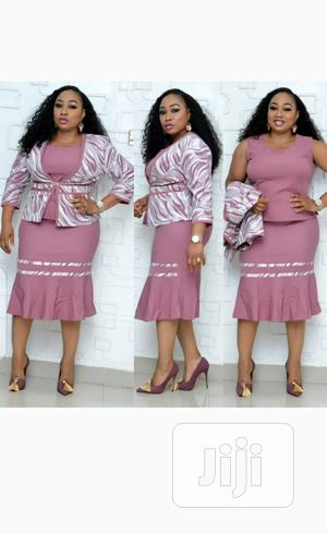 New Female Turkish Pink Top With Skirt and Jacket | Clothing for sale in Lagos State, Lekki