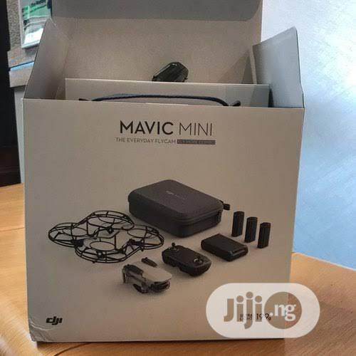 DJI Mavic Mini Fly More Combo Drone With 2.7K Camera 3-Axis | Photo & Video Cameras for sale in Ikeja, Lagos State, Nigeria