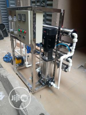 Reverse Osmosis 1000 Liters Per Hour 4 Membrane 100% Drinkable Water   Manufacturing Equipment for sale in Lagos State, Orile