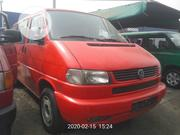 Very Clean And Sharp Volkswagen Transporter 2002 Red | Buses & Microbuses for sale in Lagos State, Apapa