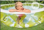 """Intex Swim Center Pinwheel Inflatable Pool 90"""" X 90"""" X 22"""",-ages 6+ 