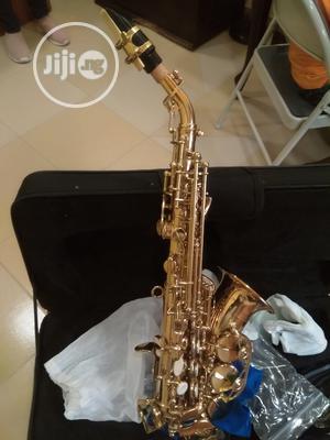 Original Prof Yamaha/Premier England Soprano Saxophone Curv | Musical Instruments & Gear for sale in Lagos State, Ikeja