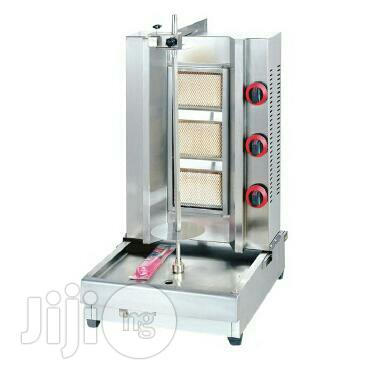 3-burner Shawarma Machine Gas