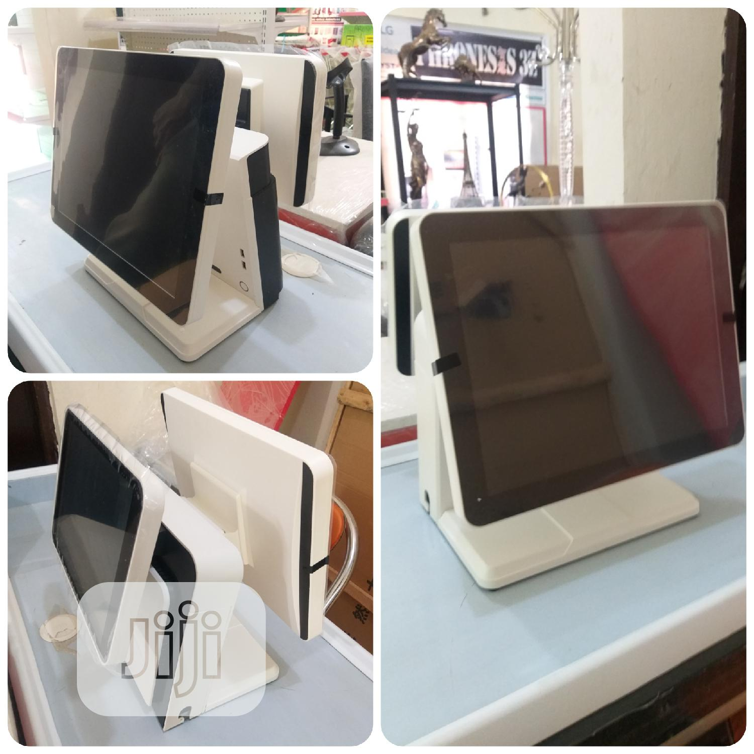 Dual Touch Screen POS Terminal | Store Equipment for sale in Kubwa, Abuja (FCT) State, Nigeria