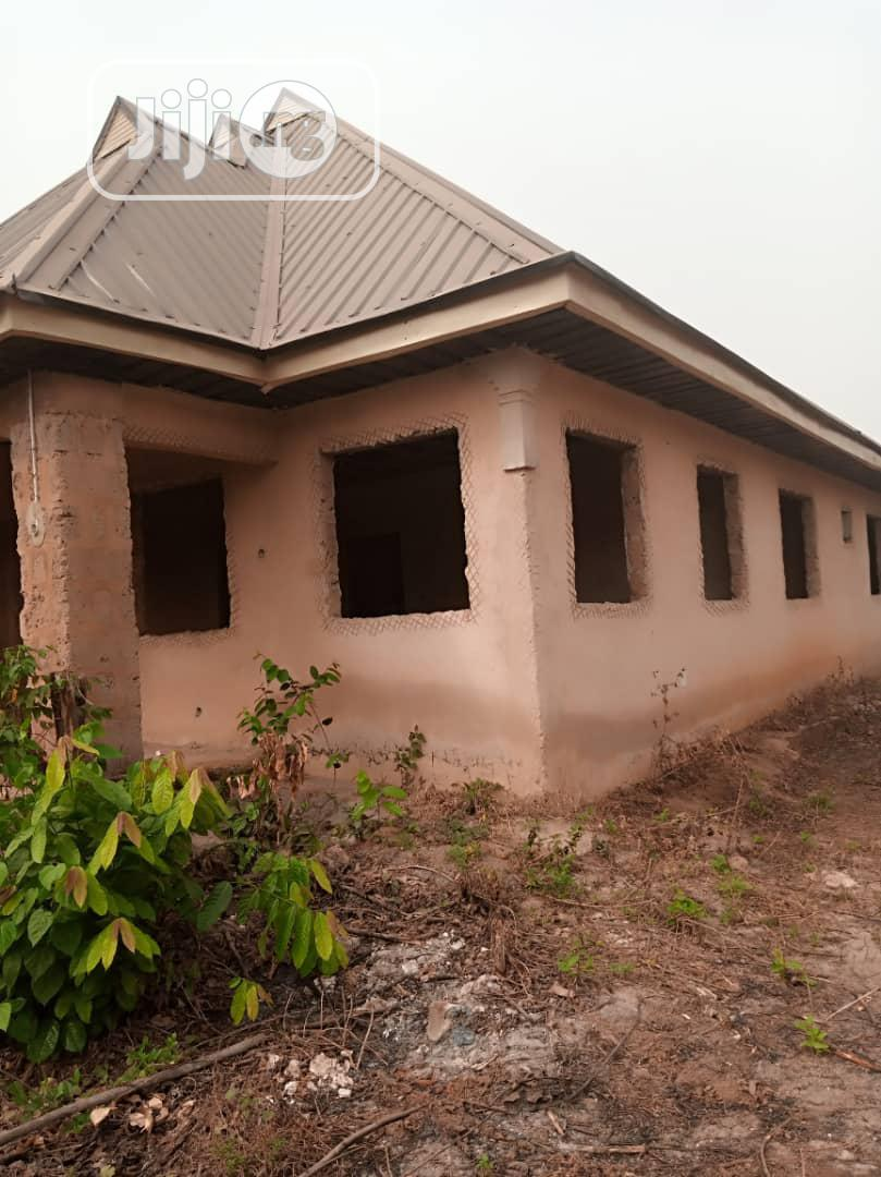 Very Cheap Already Roofed Uncompleted 2flats On 50x100ft For Sale | Houses & Apartments For Sale for sale in Benin City, Edo State, Nigeria