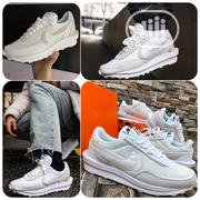 Nike X SACAI Ldwaffle Racer White Gray Unisex Sneakers | Shoes for sale in Lagos State, Ikeja