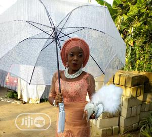 Bridal Umbrella and Fan for Sale   Wedding Wear & Accessories for sale in Delta State, Sapele