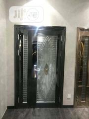 4ft Glass Door Black | Doors for sale in Lagos State, Orile