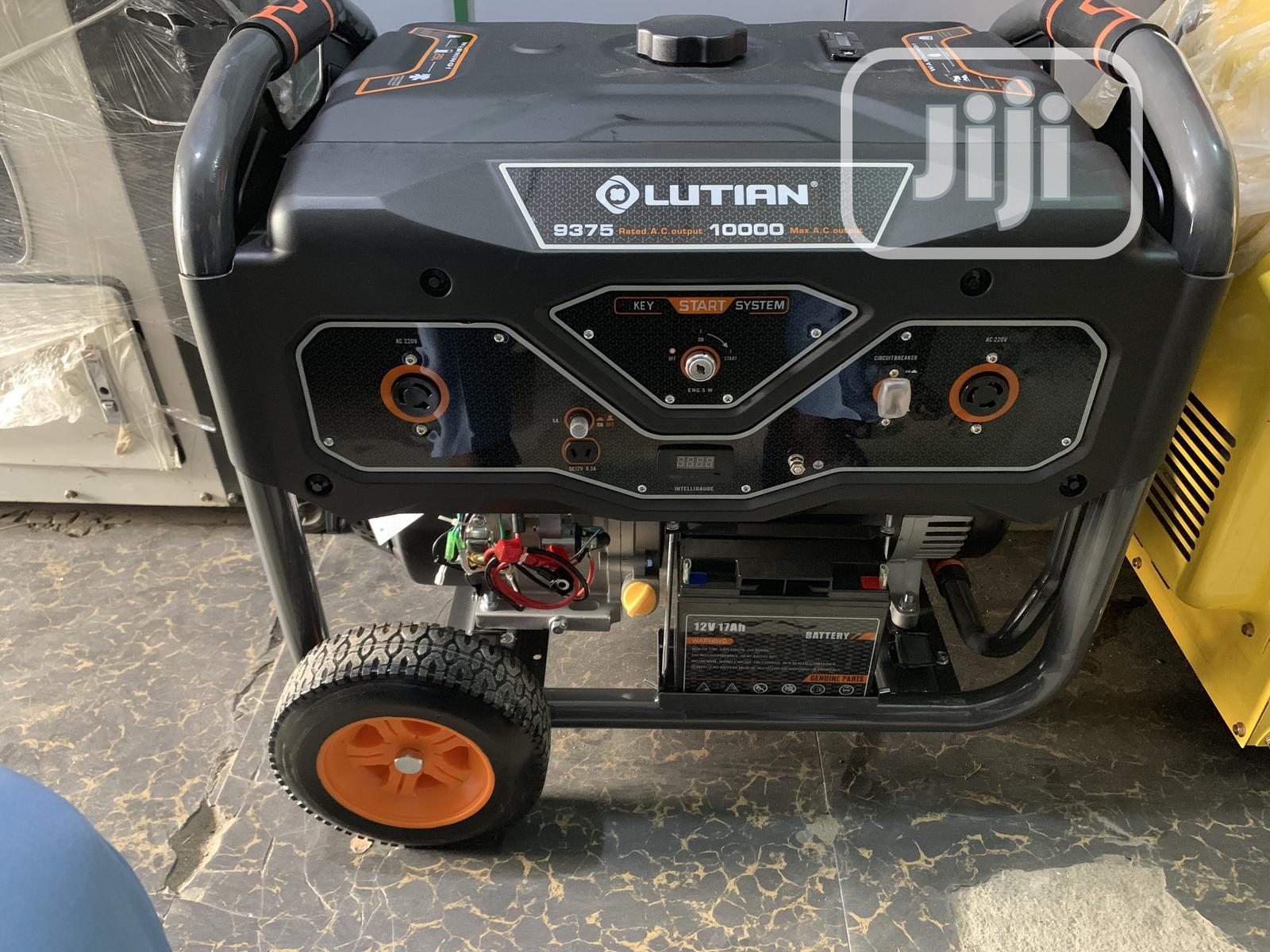 New Model Lutian Petrol Low Noise Generator 10 Kva