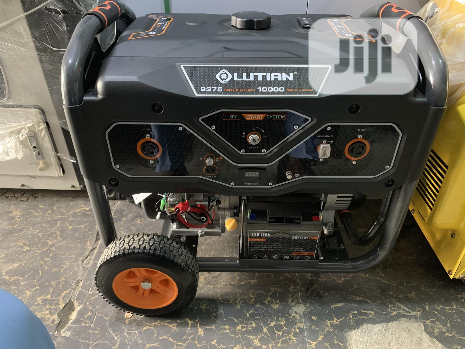 New Model Lutian Petrol Low Noise Generator 10 Kva | Electrical Equipment for sale in Ojo, Lagos State, Nigeria