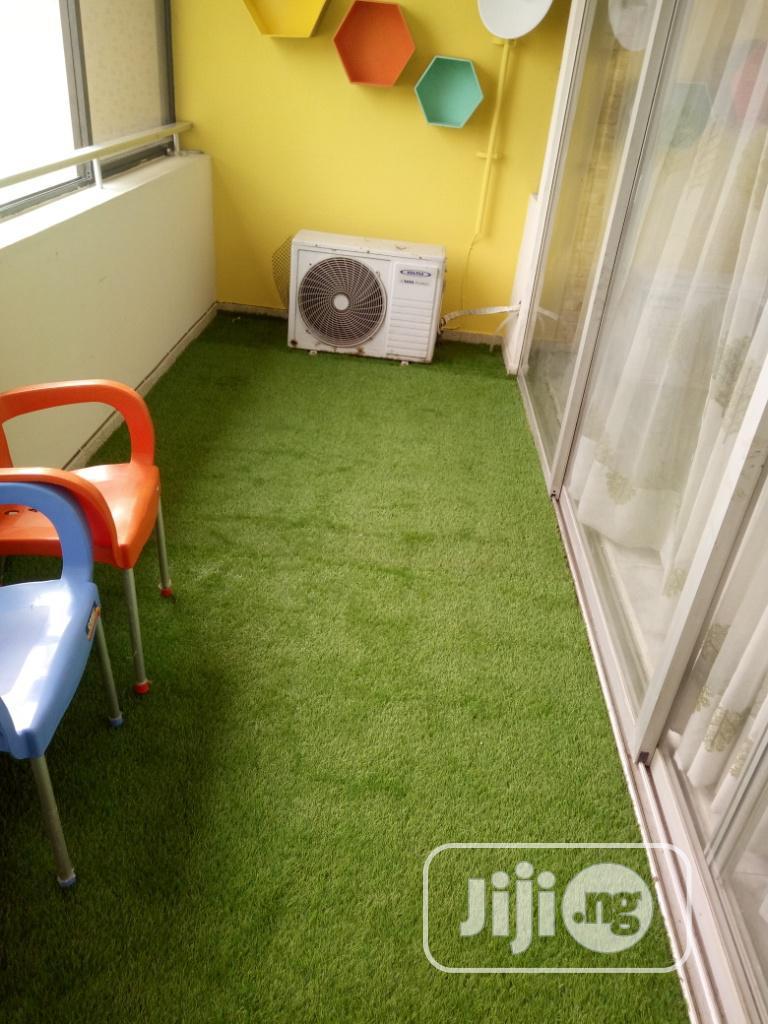 10 Mm Artificial Grass Installation At Ikoyi Lagos State